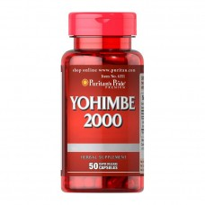 Yohimbe 2000 mg (50 caps)