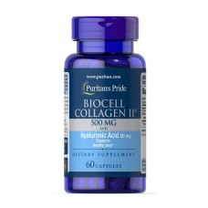 Biocell Collagen II 500 mg and Hyaluronic Acid 50 mg (60 caps)