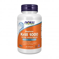 Krill Oil 1000 Double Strength (60 softgels)