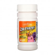 Zoo Friends with Extra C Children's Multivitamin (60 chew tabs)
