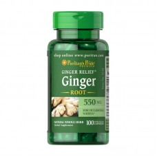 Ginger Root 550 mg (100 caps)